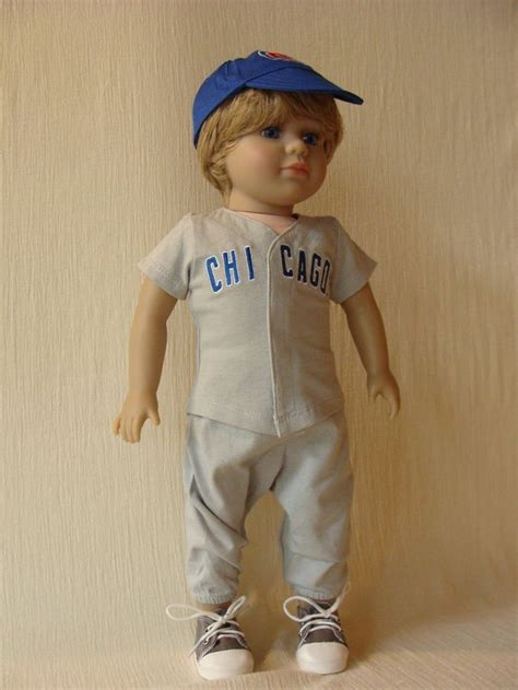 doll baseball chicago cubs baseball for american dolls will