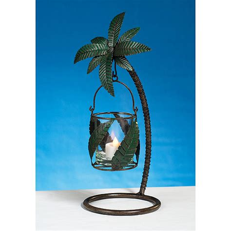 kerzenhalter palme metal palm tree candle holder walmart