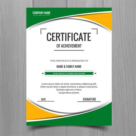 web design certificate los angeles kleurrijke certificaatsjabloon vector gratis download
