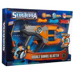 pistolet slugterra blaster double canons 3 slugs lug05 achat vente imitation sur