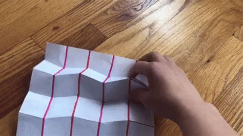 How To Make A Puzzle Out Of Paper - tessellation and miura folds science friday