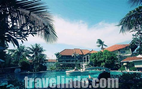 melasti resort legian map travelindo indonesia travel