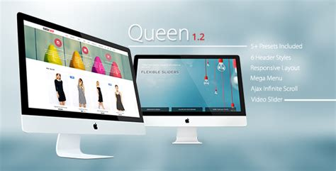 themeforest queen queen responsive shopify sections theme by roartheme