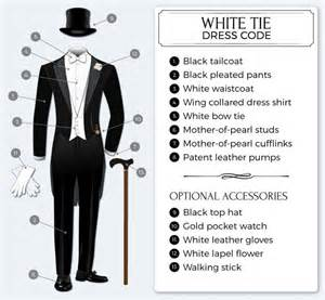 white tie guide to white tie dress code tie a tie net