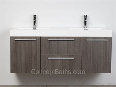 modern bathroom double vanities wall mounted double modern bathroom vanity grey oak tn