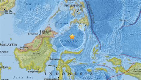 earthquake malaysia 2017 7 3 earthquake hits near philippines malaysia