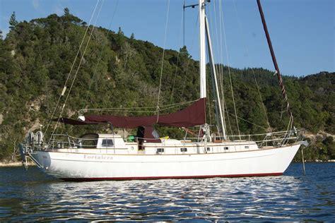inflatable sailing catamaran nz 1987 mason 48 steel cutter new zealand boats