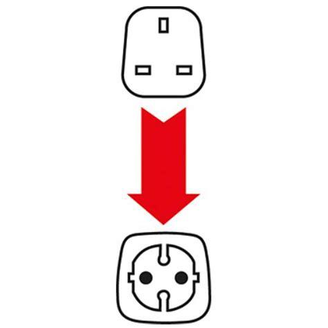 Adaptor 12 Volt 1 Ere travel adapter uk 3 pin