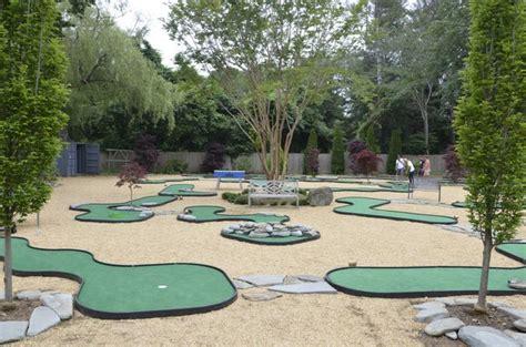 backyard mini golf course backyard mini golf course outdoor goods