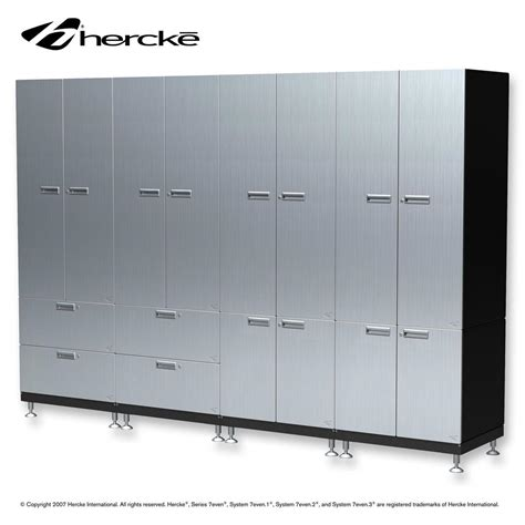 hercke cabinet combo large storage wall system with