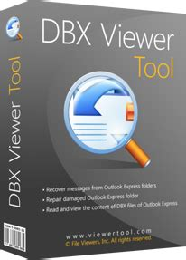 Dbx Tool dbx viewer for corrupted outlook express folders