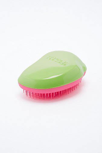 Promo Ori Uk Tangle Teezer On The Go Detangling Compact Styler tangle teezer hairbrush in peppermint outfitters