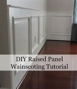 How To Put Up Wainscoting Panels Raised Panel Wainscoting Plans Woodworking Projects Plans