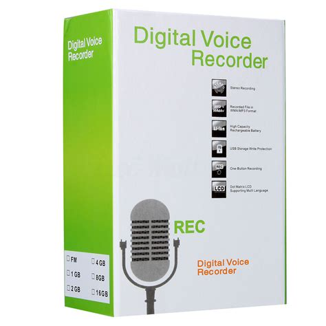 New Usb Digital Voice Recorder 8gb Mp3 Handy Perekam Suara 8gb digital audio voice recorder recording rechargeable