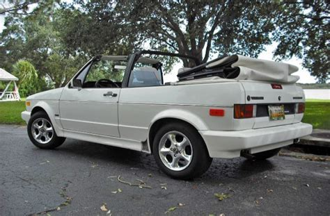 1991 Volkswagen Cabriolet by 1991 Volkswagen Cabriolet Photos Informations Articles