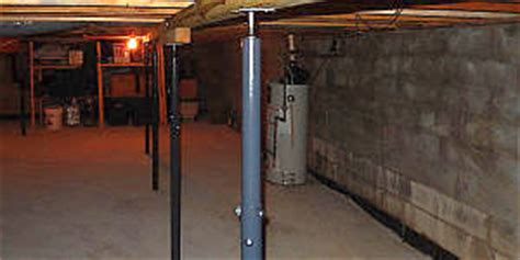 basement support posts adjustable basement metal support post pictures to pin on pinsdaddy
