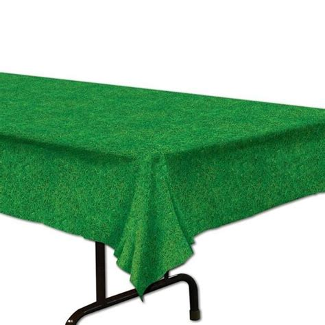 Grass Table Cover by Grass Plastic Rectangle Table Cover Majors