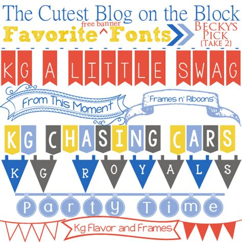 dafont banner free fonts free banner fonts the cutest blog on the block