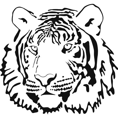 white tigers and red coloring pages