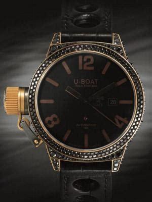 u boat diamond watch u boat bespoke classico with black diamonds watch review