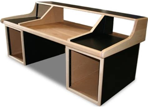 C24 Console Desk by Home Recording Studio Furniture Mix Desks Audio Racks