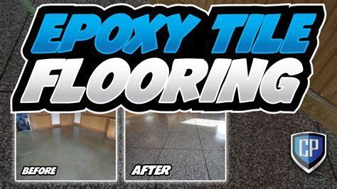 Epoxy Tile Flooring   YouTube