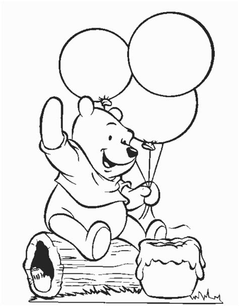Winnie the pooh coloring pages for kids winnie the pooh coloring pages