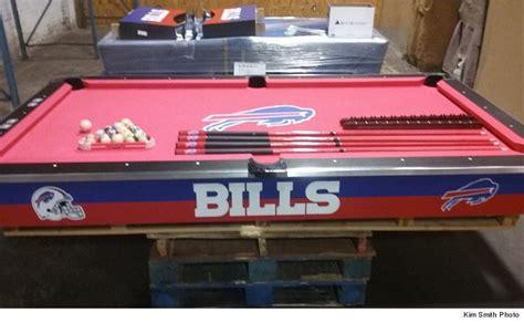 bills locker room buffalo bills locker room pool table fetches big money at auction photos tmz