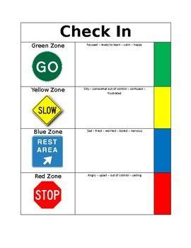 printable zones of regulation 232 best images about zones of regulation on pinterest