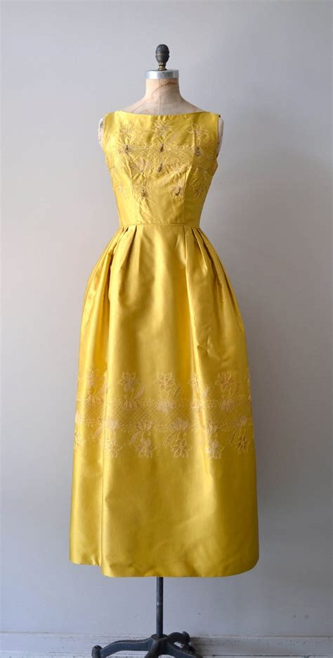 Drss 851 Dress Maxy Indiana 1960s dress 60s maxi dress sublime illumination gown