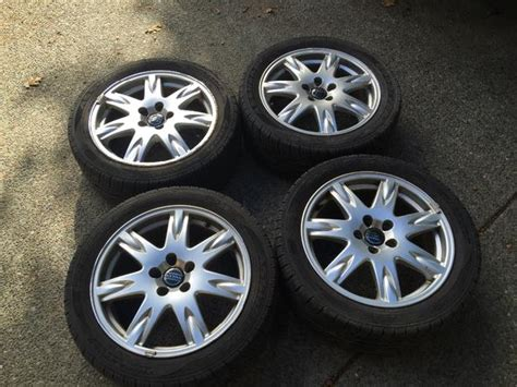 best tires for volvo xc70 volvo s60 v70 xc70 17 quot alloy wheels and tires west shore