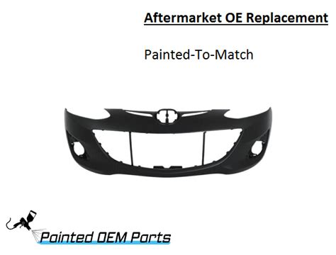 mazda 2 aftermarket parts painted mazda 2 mazda2 aftermarket oe replacement front