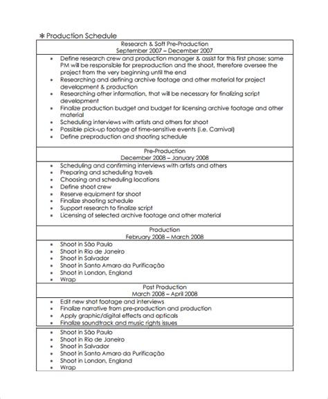 documentary template sle template 30 documents in pdf word