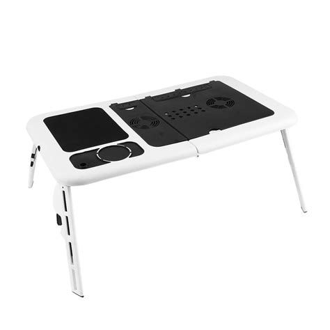 desk with cooling fan foldable laptop table tray desk with cooling fan tablet
