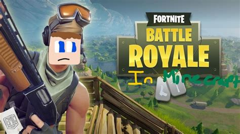 fortnite like minecraft fortnite battle royale in minecraft minecraft project