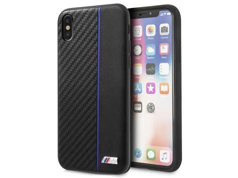 bmw m sport blauw iphone x xs hoesje