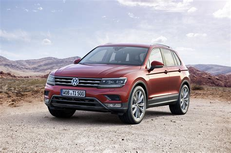 new volkswagen car new vw tiguan crossover bows in with solar panelled gte