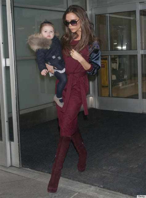 Frock Horror Of The Week The Spice Victorias Secret Carpet Appearance by Beckham Are Fashion Week Ready In New