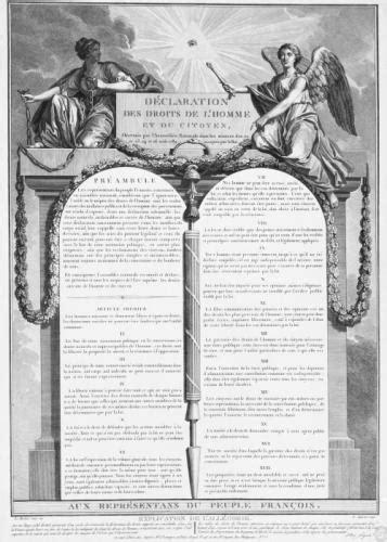 jean jacques francois le barbier declaration d 233 claration des droits de l homme et du citoyen d 233 cr 233 t 233 s