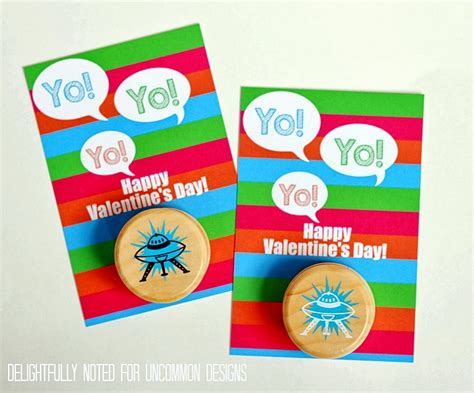 make your own valentines card for free printable s yo yo card a free