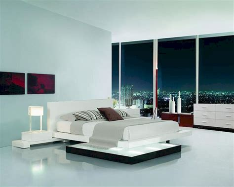 bedroom set  walk  light platform bed bset