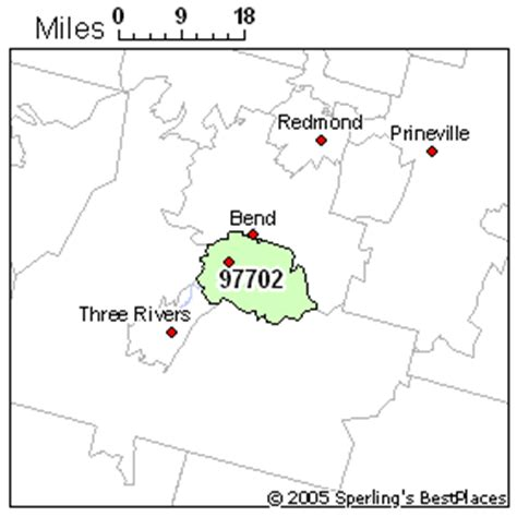 map of bend oregon zip codes best place to live in bend zip 97702 oregon