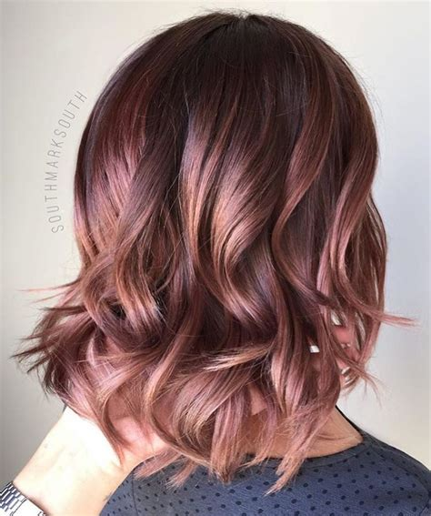 which hair color from sallys rose gold the 25 best rose gold brown hair color ideas on pinterest