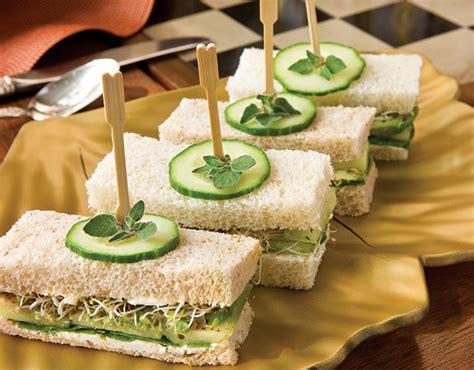 a tea sandwich primer teatime magazine
