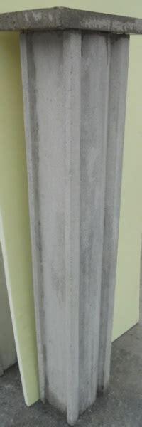 ringhiera in cemento colonna per ringhiera in cemento quot ge quot h cm 105x19x14