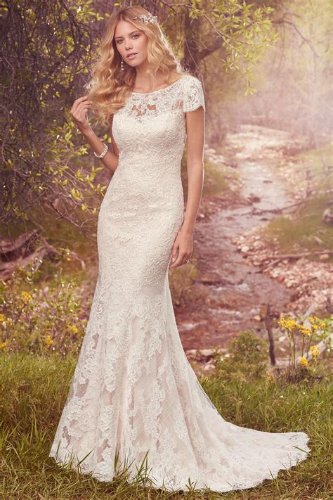 Lace Style Wedding Dresses by Hudson Hudson Wedding Dress From Maggie Sottero