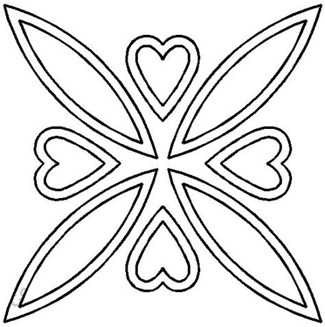 printable quilting stencils celtic stencils stencil coeurs celtiques ref 1028 marque