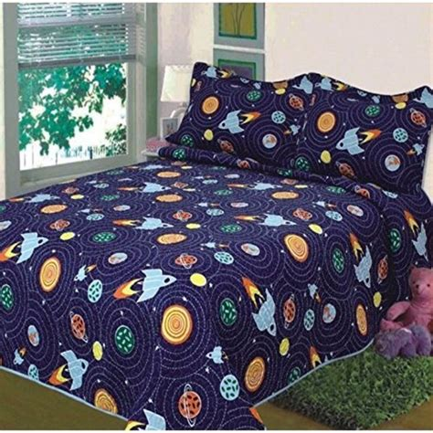 kids blue solar system bedding the land of nod 23 best images about brodey s outer space room ideas on