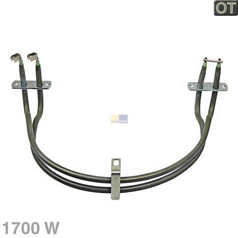 Siemens Backofen Heizspirale by Hei 223 Luft Heizelement 1700w Siemens Bosch 00494643 Backofen