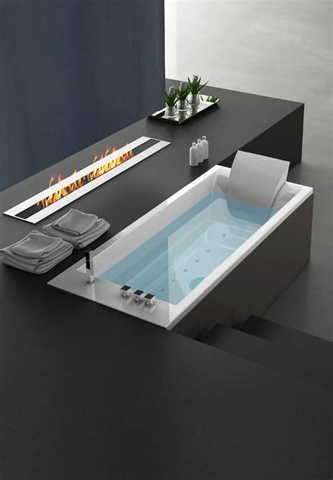 bordo vasca da bagno vasca da bagno moderna comandi a bordo vasca idfdesign